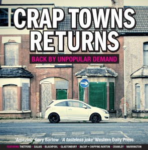 Crap Towns Returns cover